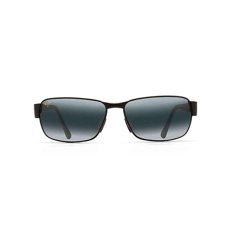 マウイジム メンズ サングラス・アイウェア アクセサリー Maui Jim Black Coral Polarized Sunglasses Matte Black / Neutral Grey