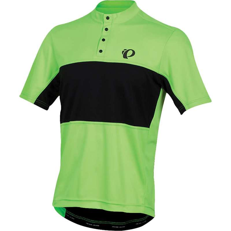 パールイズミ メンズ シャツ トップス Pearl Izumi Men's SELECT Tour Jersey Screaming Green/Black