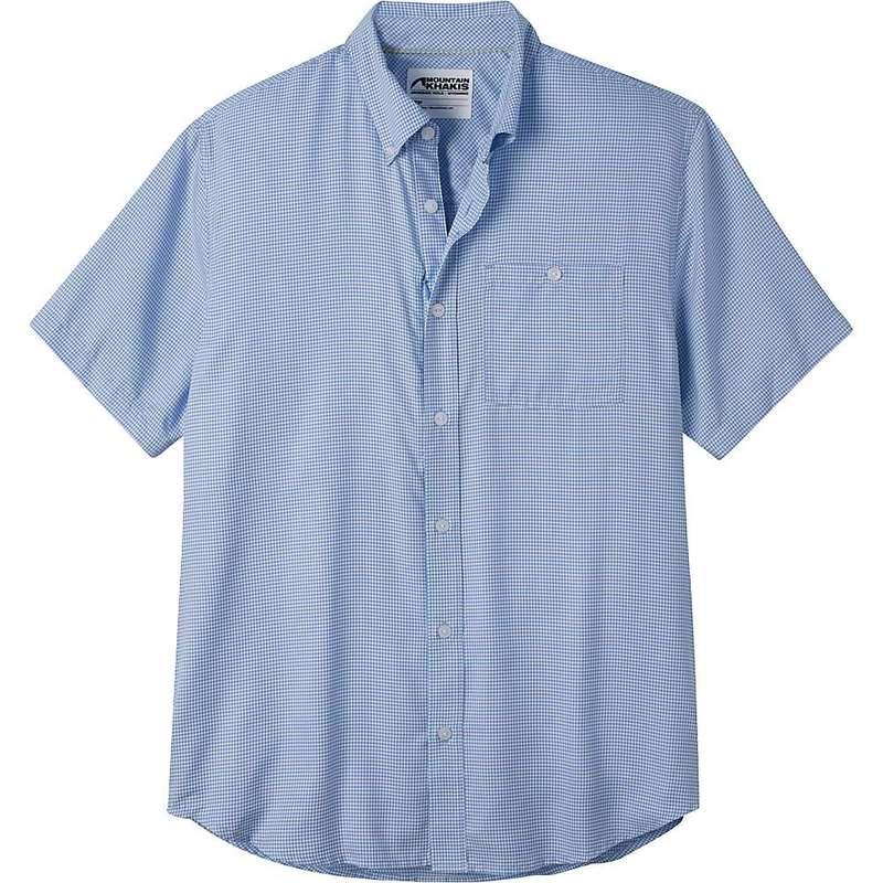 マウンテンカーキス メンズ シャツ トップス Mountain Khakis Men's Passport EC SS Shirt Larkspur