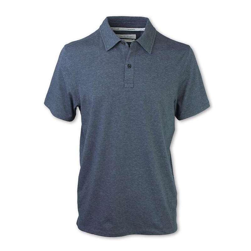 パーネル メンズ シャツ トップス Purnell Men's Performance Knit Polo Shirt Heather Grey