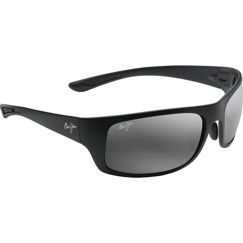 マウイジム メンズ サングラス・アイウェア アクセサリー Maui Jim Big Wave Polarized Sunglasses Matte Black / Neutral Grey Polarized