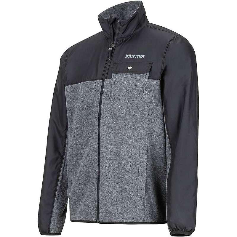 マーモット メンズ ニット・セーター アウター Marmot Men's Tech Sweater Black Heather / Black