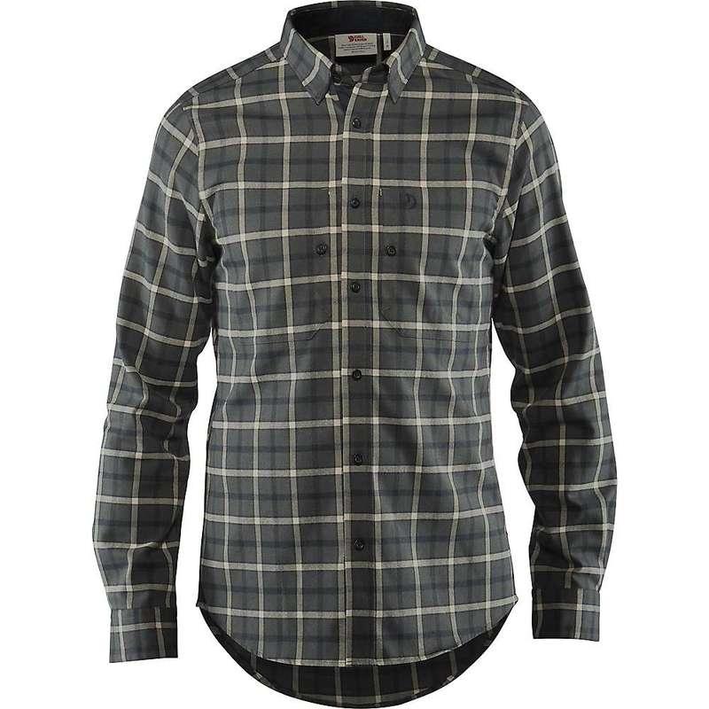 フェールラーベン メンズ シャツ トップス Fjallraven Men's Fjallslim LS Shirt Ash Grey