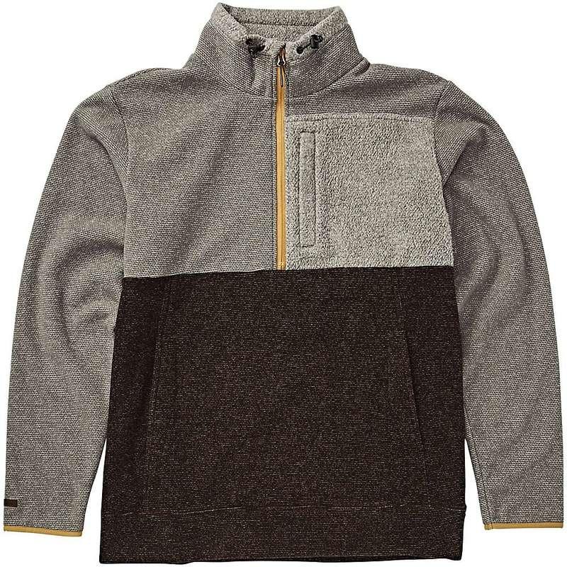 ビラボン メンズ ニット・セーター アウター Billabong Men's Boundary Mock Half Zip Top Grey