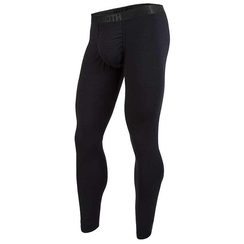 ベニス メンズ カジュアルパンツ ボトムス BN3TH Men's Merino Wool First Layer Bottom Black / Black