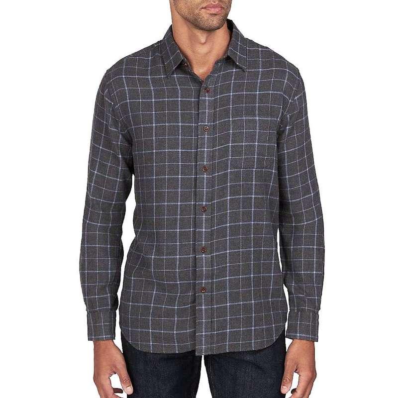 ファレティ メンズ シャツ トップス Faherty Ventura Long Sleeve Shirt Blue Melange Windowpane