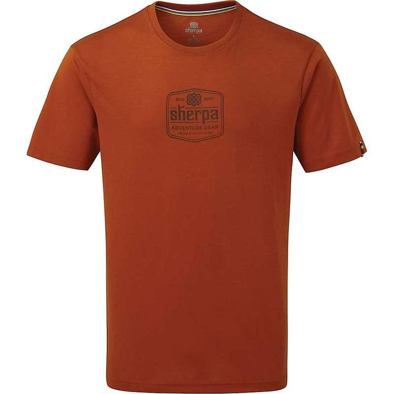 シャーパ メンズ Tシャツ トップス Sherpa Tashi Tee Teej Orange