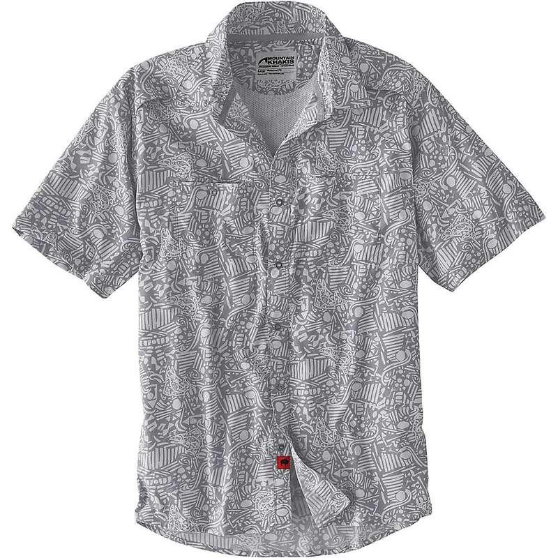 マウンテンカーキス メンズ シャツ トップス Mountain Khakis Men's Inlet SS Shirt Lunar