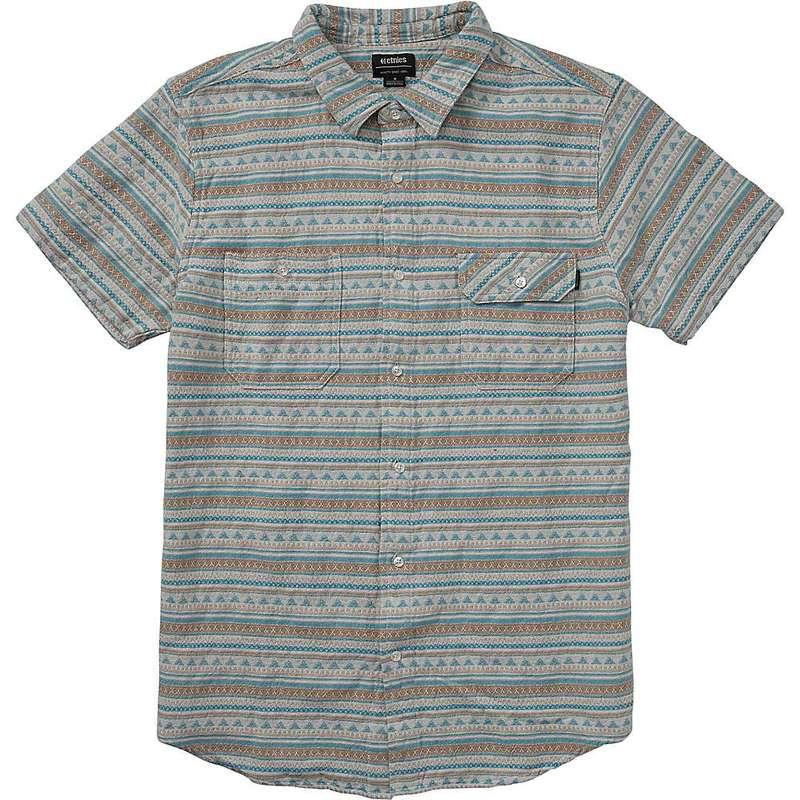 エトニーズ メンズ シャツ トップス Etnies Men's Tribute SS Shirt Stone