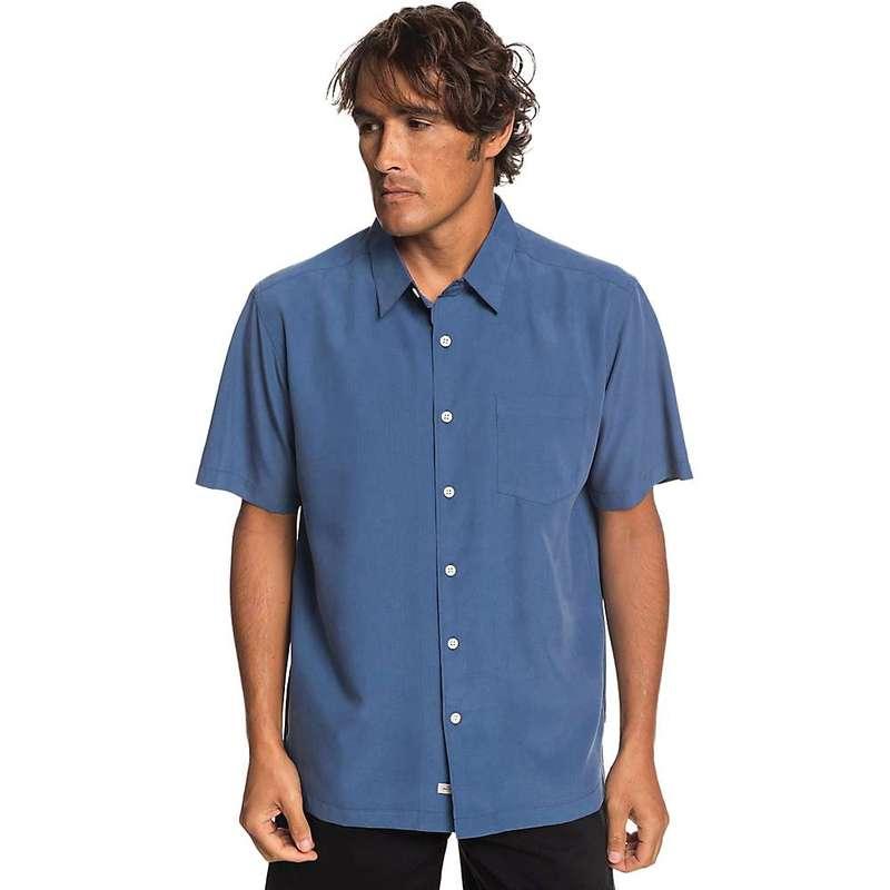 クイックシルバー メンズ シャツ トップス Quiksilver Men's Cane Island Shirt Parisian Night