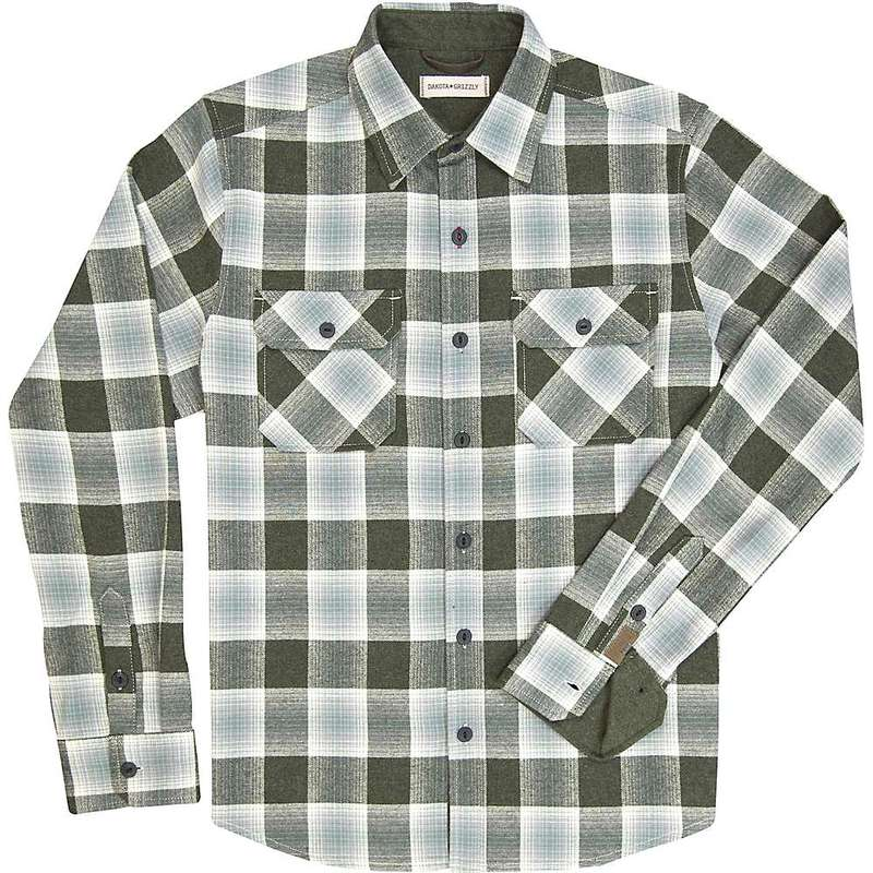 ダコタグリズリー メンズ シャツ トップス Dakota Grizzly Men's Ferris Shirt Army