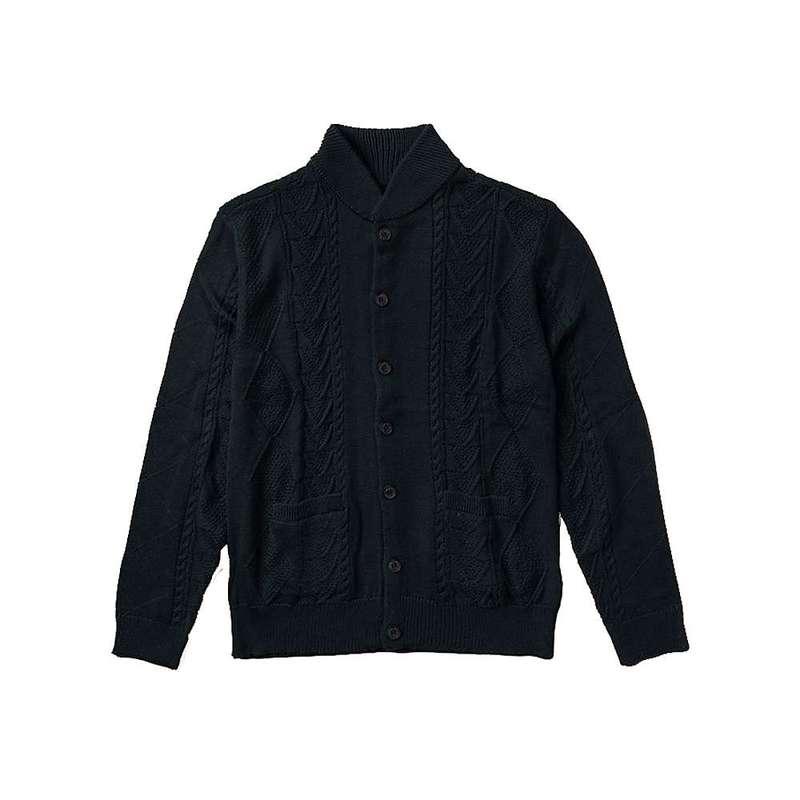 ローアク メンズ ニット・セーター アウター Roark Men's Good Guest Bomber Style Knit Sweater Navy
