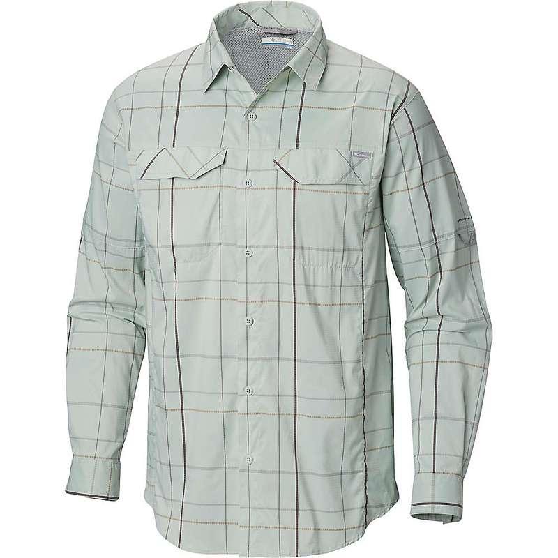 コロンビア メンズ シャツ トップス Columbia Men's Silver Ridge Lite Plaid LS Shirt Cool Green Open Pane Plaid