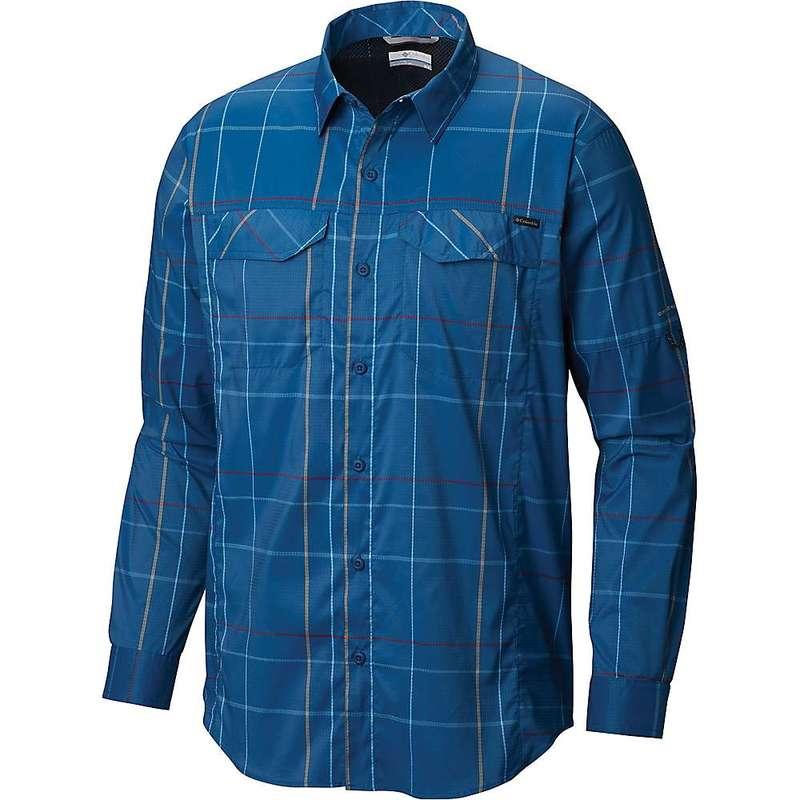 コロンビア メンズ シャツ トップス Columbia Men's Silver Ridge Lite Plaid LS Shirt Impulse Blue Open Pane Plaid