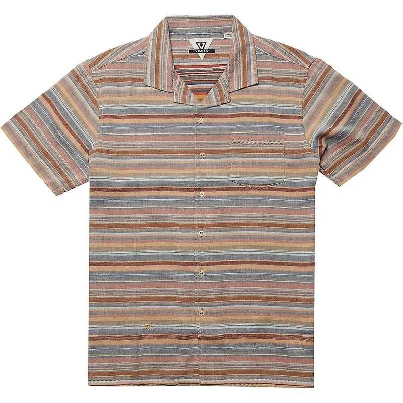 ヴィスラ メンズ シャツ トップス Vissla Men's Baja Del Sur SS Shirt Rusty Red