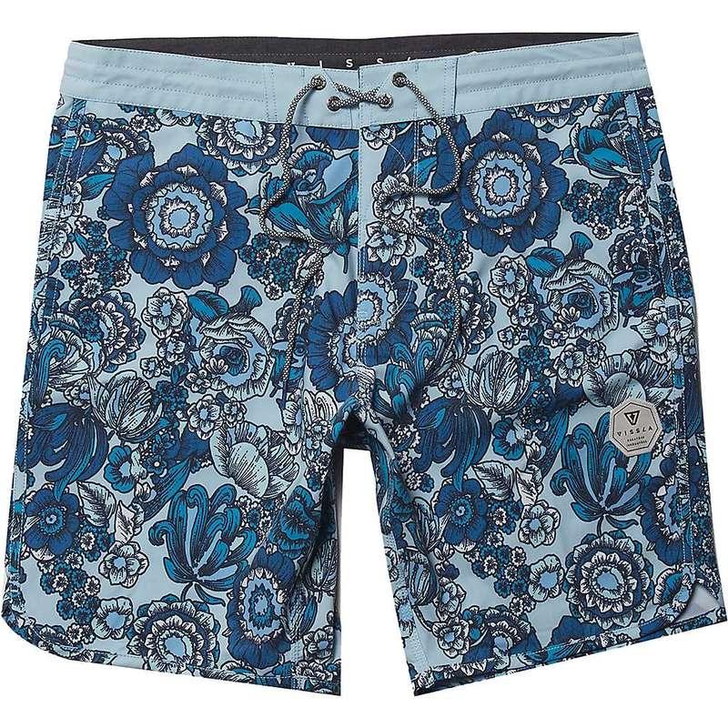 ヴィスラ メンズ ハーフパンツ・ショーツ 水着 Vissla Men's Muy Muy Bueno 18.5IN Boardshort Cool Blue