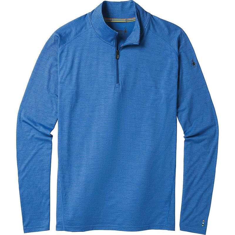 スマートウール メンズ シャツ トップス Smartwool Men's Merino 150 Baselayer 1/4 Zip Top Bright Cobalt