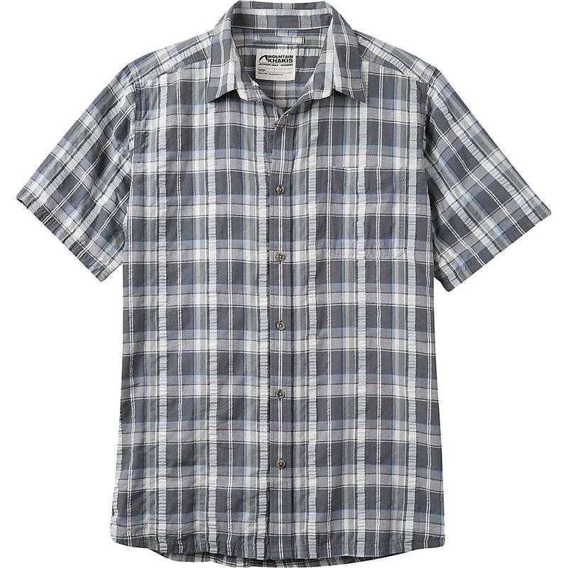 マウンテンカーキス メンズ シャツ トップス Mountain Khakis Men's Crags EC Crinkle SS Shirt Gunmetal