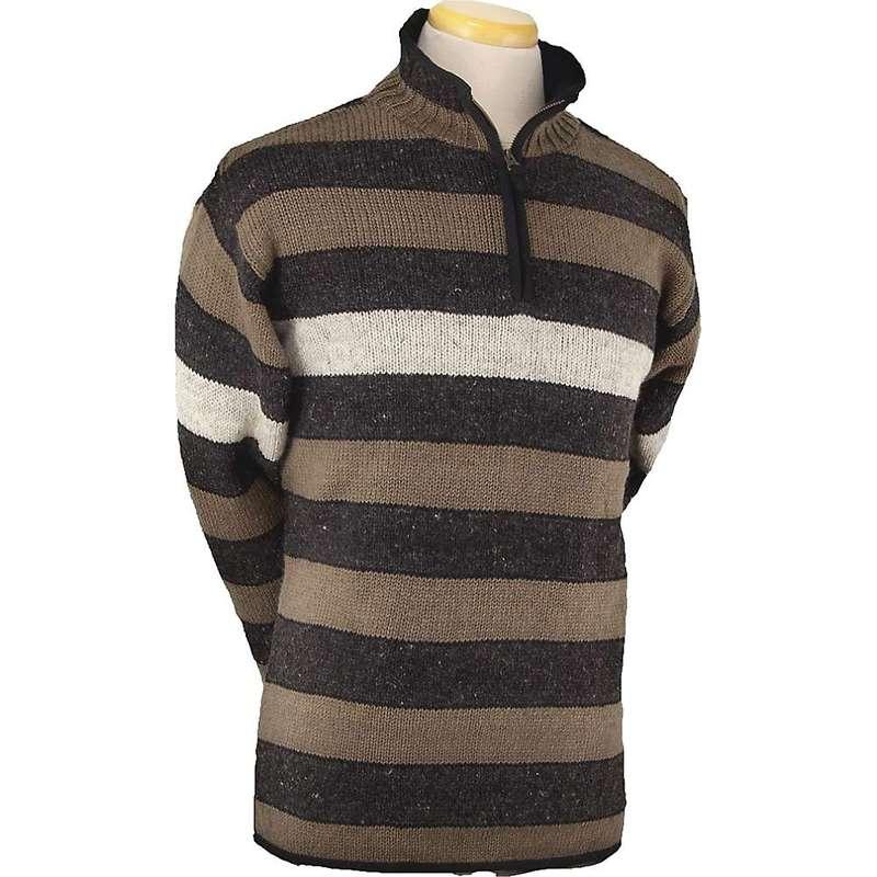 ランドロマット メンズ ニット・セーター アウター Laundromat Men's Cambridge Sweater Black Natural