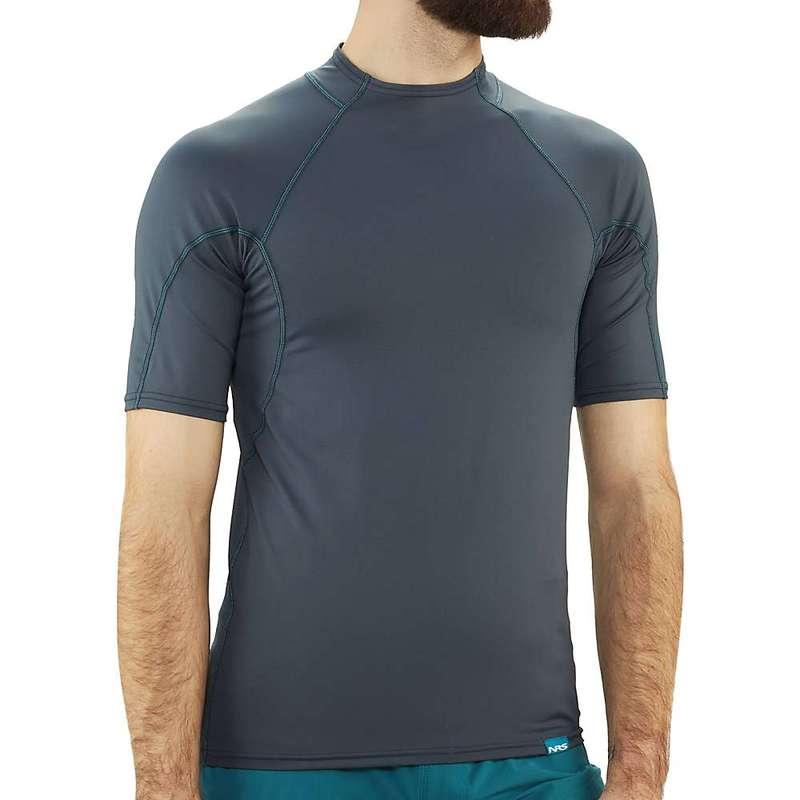エヌアールエス メンズ パーカー・スウェット アウター NRS Men's H2Core Rashguard SS Shirt Dark Shadow