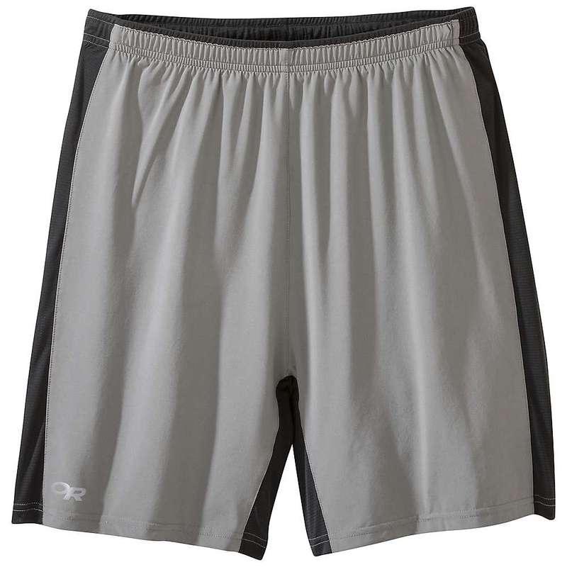 アウトドアリサーチ メンズ ハーフパンツ・ショーツ ボトムス Outdoor Research Men's Airfoil Shorts Pewter / Black