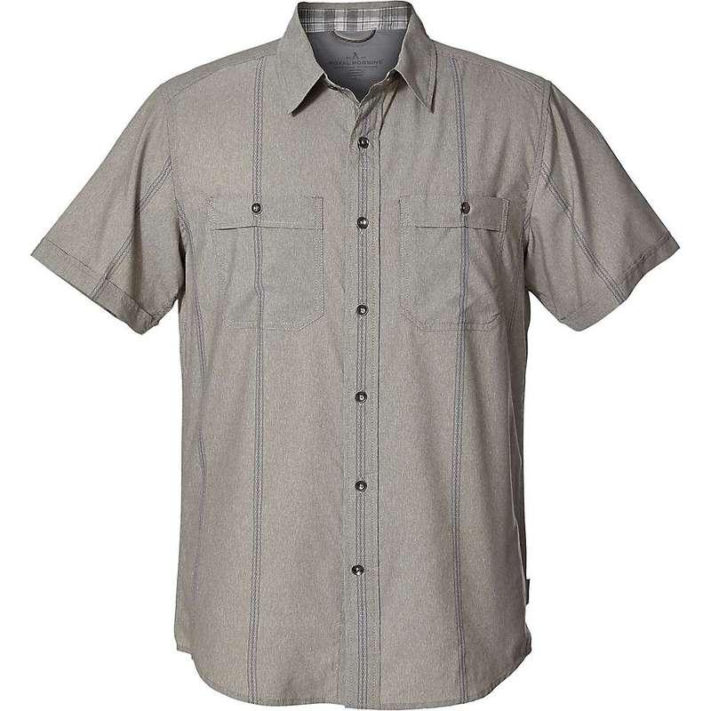 ロイヤルロビンズ メンズ シャツ トップス Royal Robbins Men's Vista Dry SS Shirt Fiddlehead