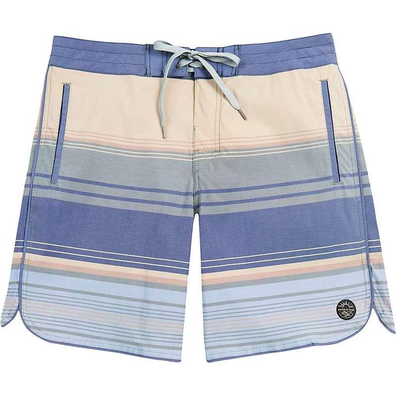 ユナイテッドバイブルー メンズ ハーフパンツ・ショーツ 水着 United By Blue Men's Sea Bed Scallop Boardshort Olive