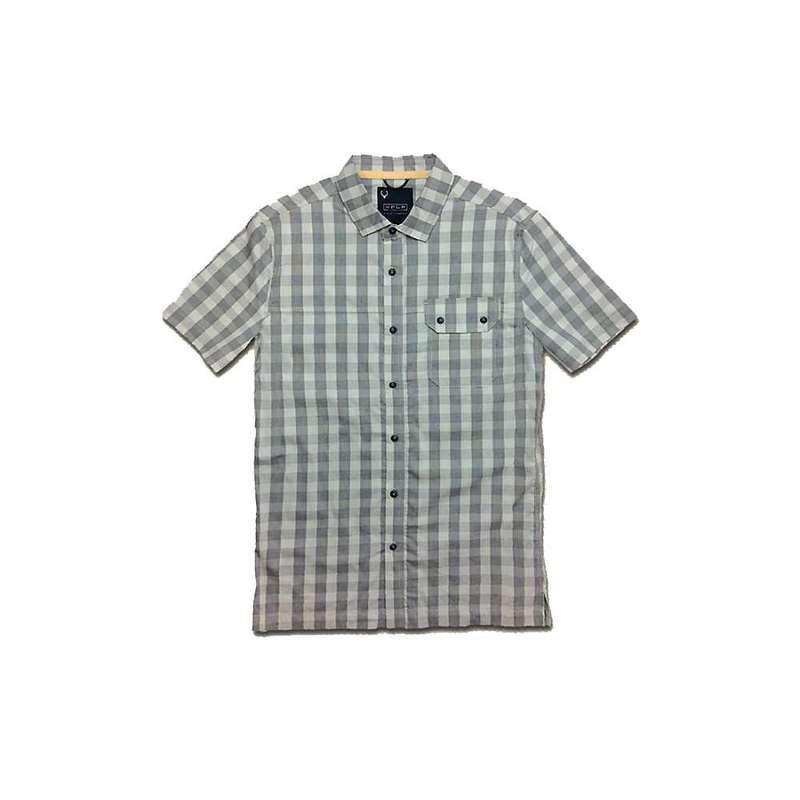 ジェレミア メンズ シャツ トップス Jeremiah Men's Gerald Plaid Shirt Cadet Blue