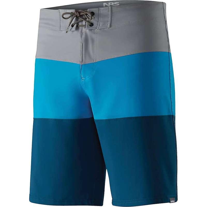 エヌアールエス メンズ ハーフパンツ・ショーツ 水着 NRS Men's Benny Board Shorts Gray / Blue