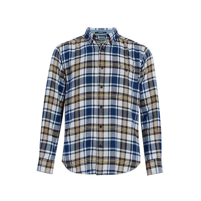 ウール リッチ メンズ シャツ トップス Woolrich Men's Trout Run Classic Flannel Shirt New Royal Blue Multi
