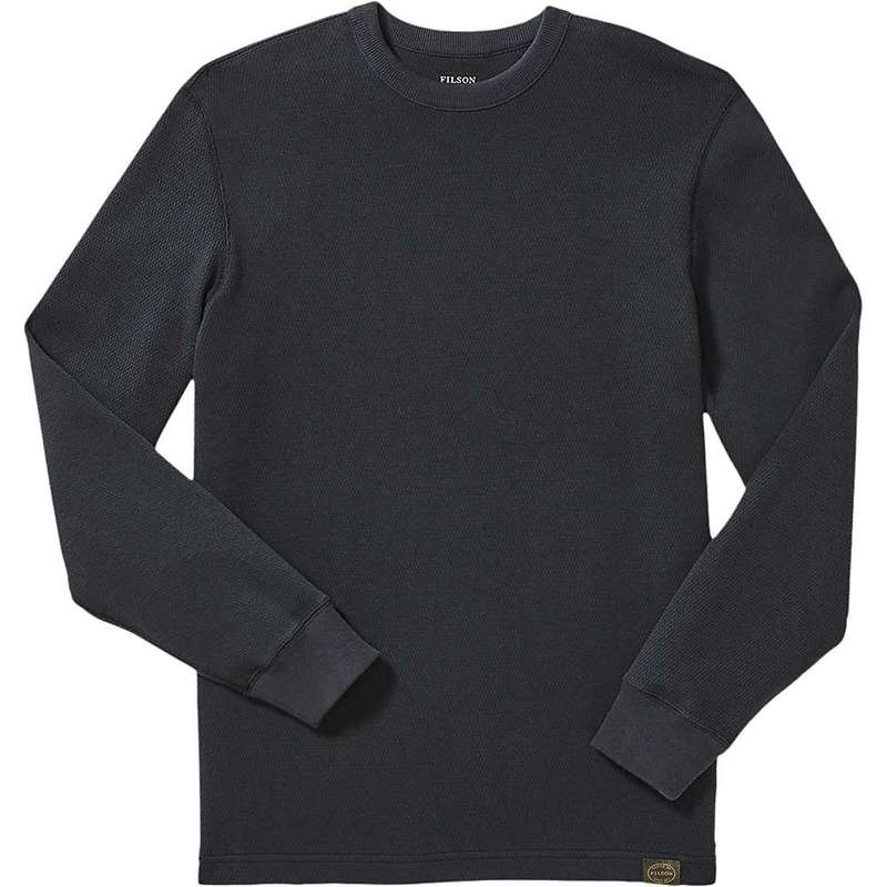 フィルソン メンズ シャツ トップス Filson Men's Waffle Knit Thermal Crewneck Top Navy