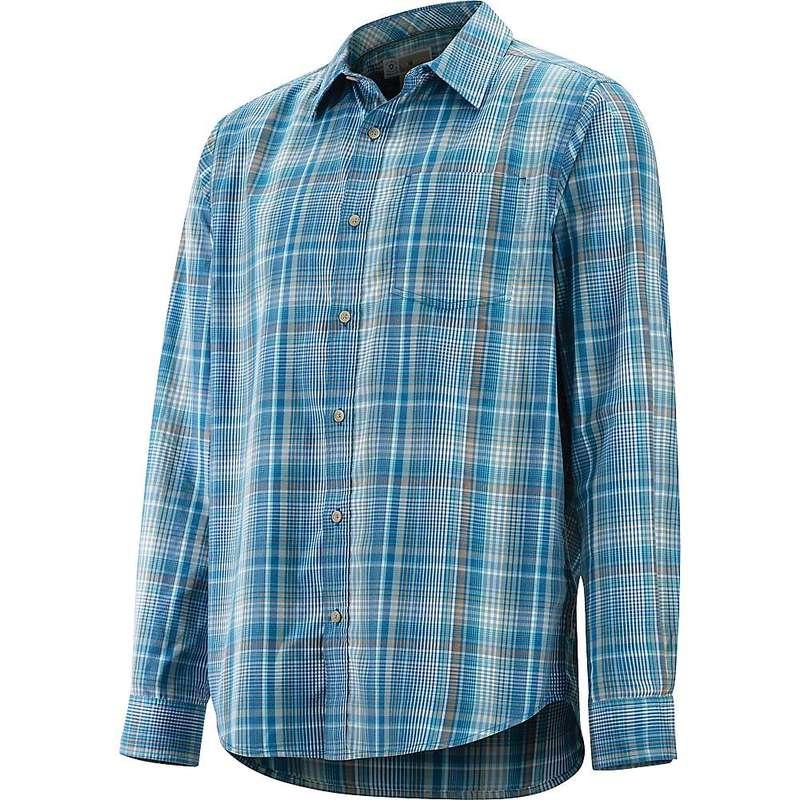 エクスオフィシオ メンズ シャツ トップス ExOfficio Men's BugsAway Covas LS Shirt Maui