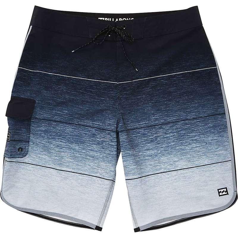 ビラボン メンズ ハーフパンツ・ショーツ 水着 Billabong Men's 73 Stripe Pro Boardshort Charcoal