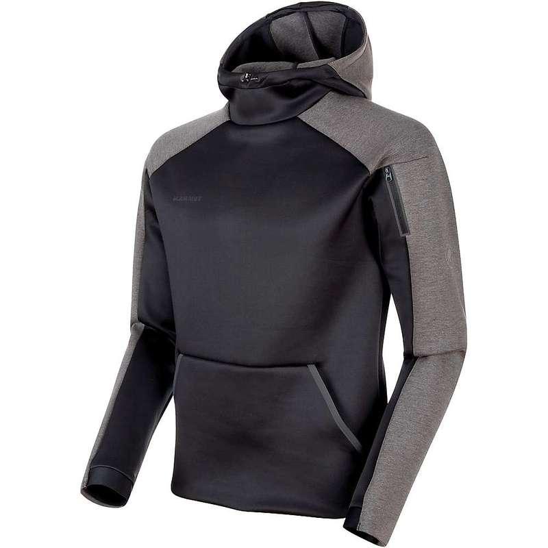 マムート メンズ パーカー・スウェット アウター Mammut Men's Logo Midlayer Hooded Black