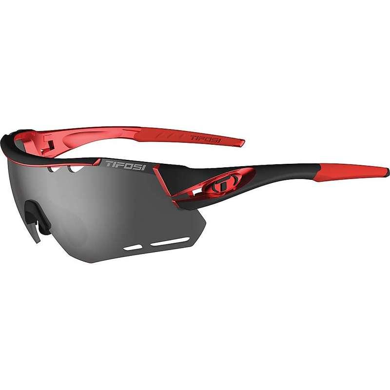 テフォシー メンズ サングラス・アイウェア アクセサリー Tifosi Alliant Sunglasses Black / Red