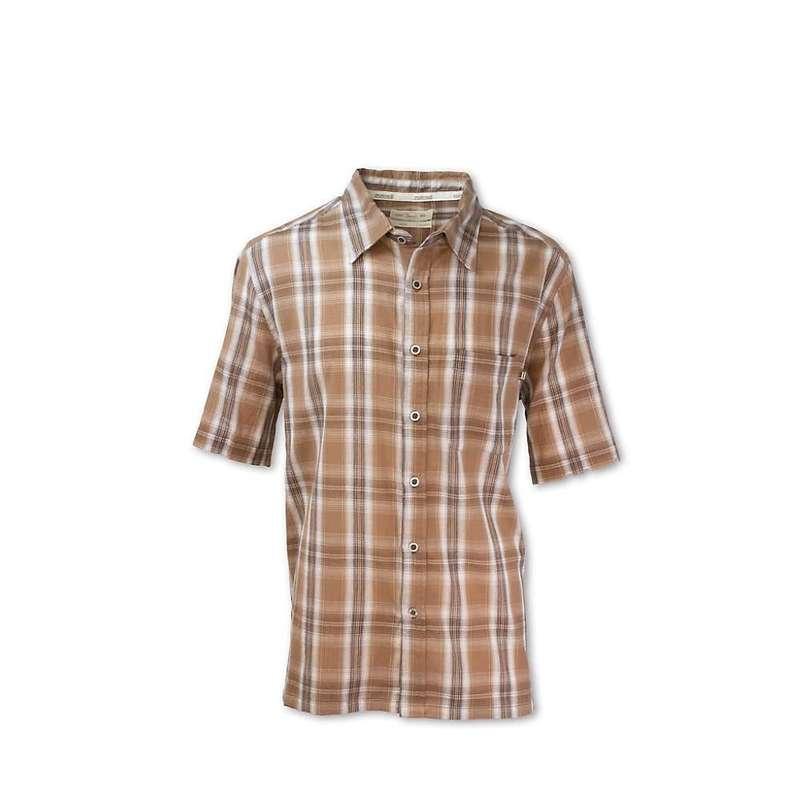 パーネル メンズ シャツ トップス Purnell Men's Aspen Madras Plaid Shirt Brown