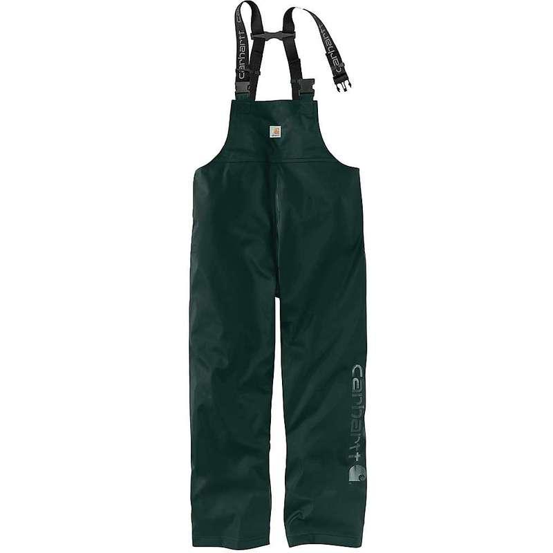 カーハート メンズ カジュアルパンツ ボトムス Carhartt Men's Lightweight Rain Storm Bib Overall Canopy Green