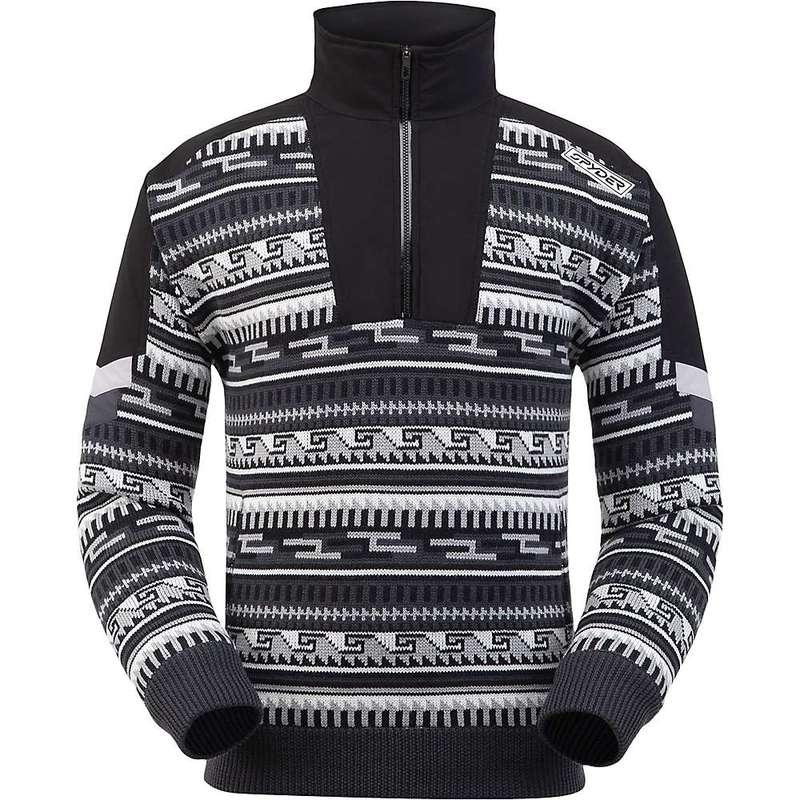 スパイダー メンズ ニット・セーター アウター Spyder Men's Legacy GTX Infinium Lined Half Zip Sweater Black