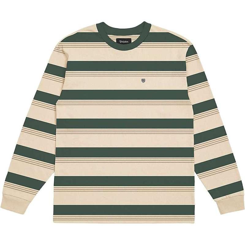 ブリクストン メンズ シャツ トップス Brixton Men's Hilt LS Shirt Emerald