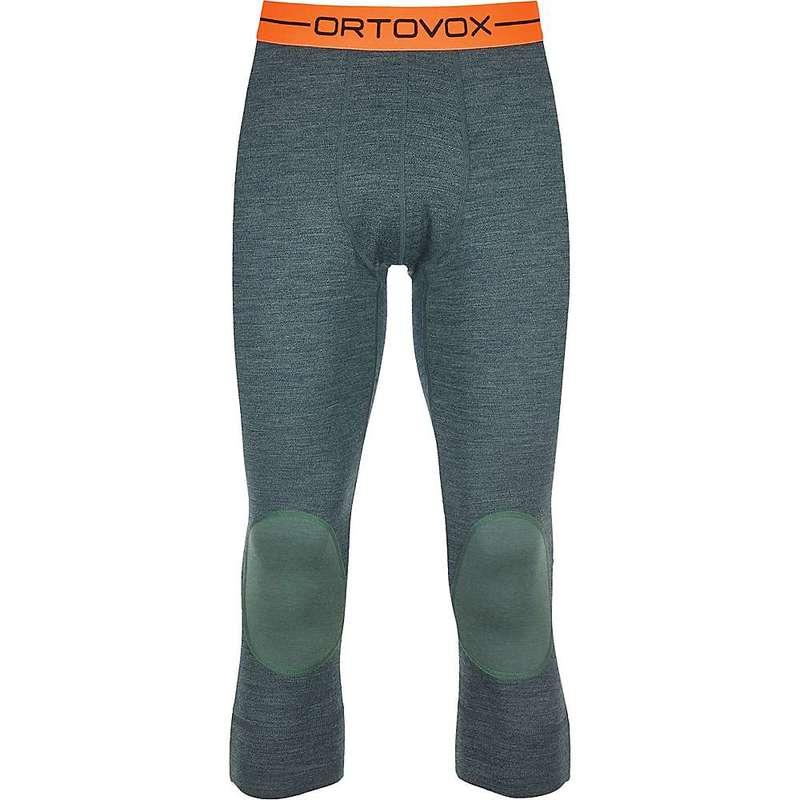 オルトボックス メンズ カジュアルパンツ ボトムス Ortovox Men's 185 Rock'N'Wool Short Pant Green Forest Blend