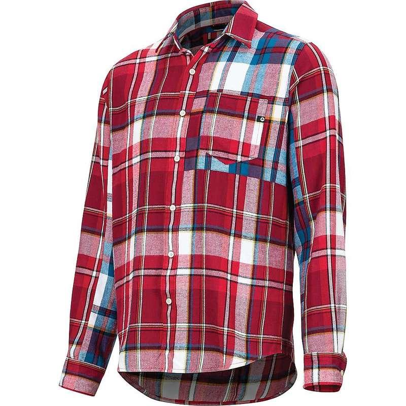 マーモット メンズ シャツ トップス Marmot Men's Asheville Midweight Flannel LS Shirt Brick