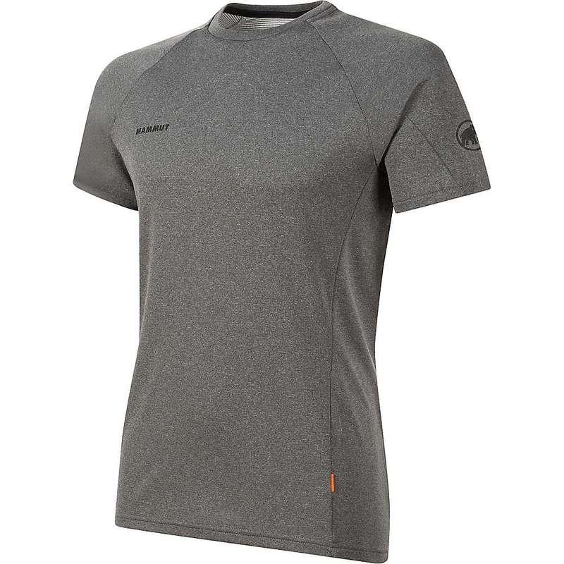マムート メンズ Tシャツ トップス Mammut Men's Aegility T-Shirt Phantom Melange