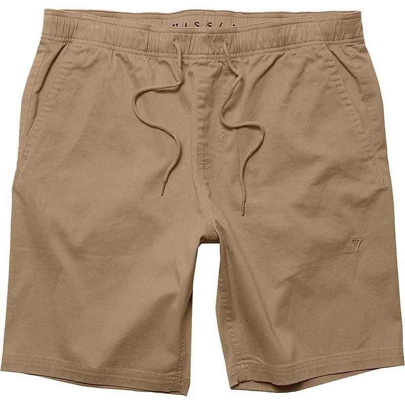 ヴィスラ メンズ ハーフパンツ・ショーツ ボトムス Vissla Men's No See Ums 18.5IN Elastic Walkshort Khaki