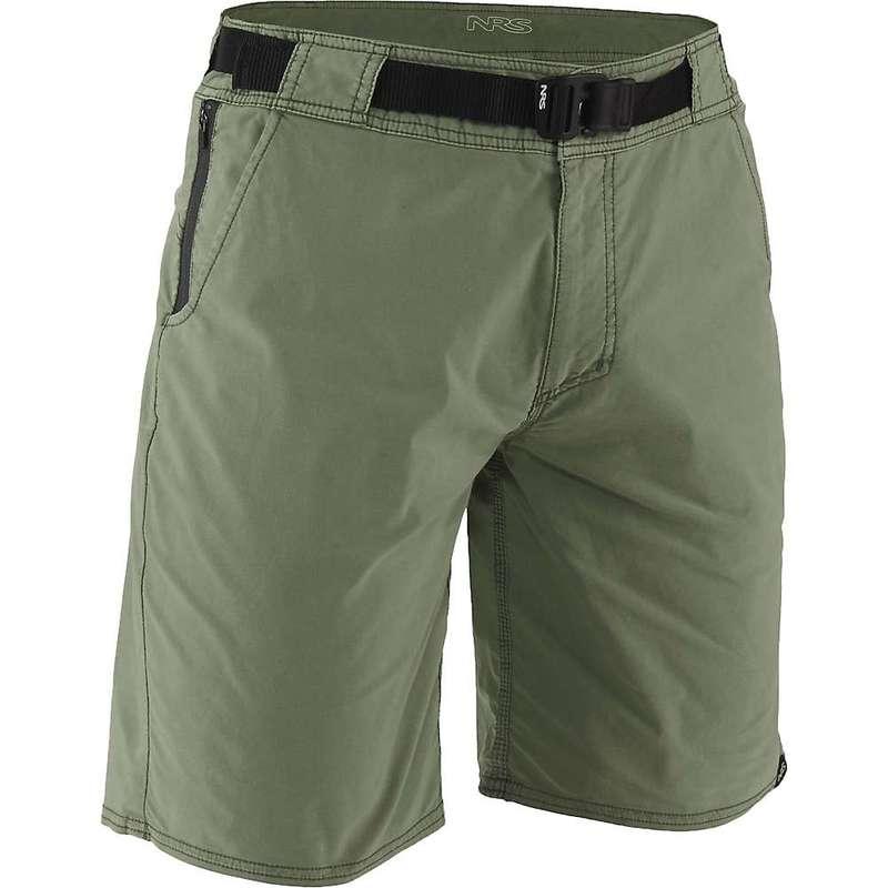 エヌアールエス メンズ ハーフパンツ・ショーツ ボトムス NRS Men's Canyon Shorts Olive