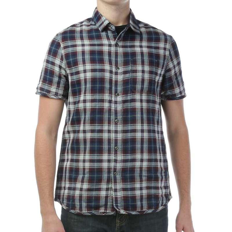 ジェレミア メンズ シャツ トップス Jeremiah Men's Reverse Gauze S/S Shirt Astral