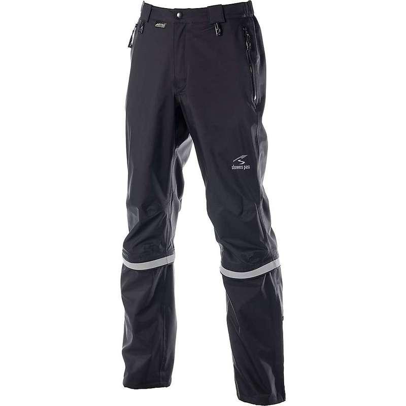 シャワーパス メンズ カジュアルパンツ ボトムス Showers Pass Men's Club Convertible 2 Pant Black