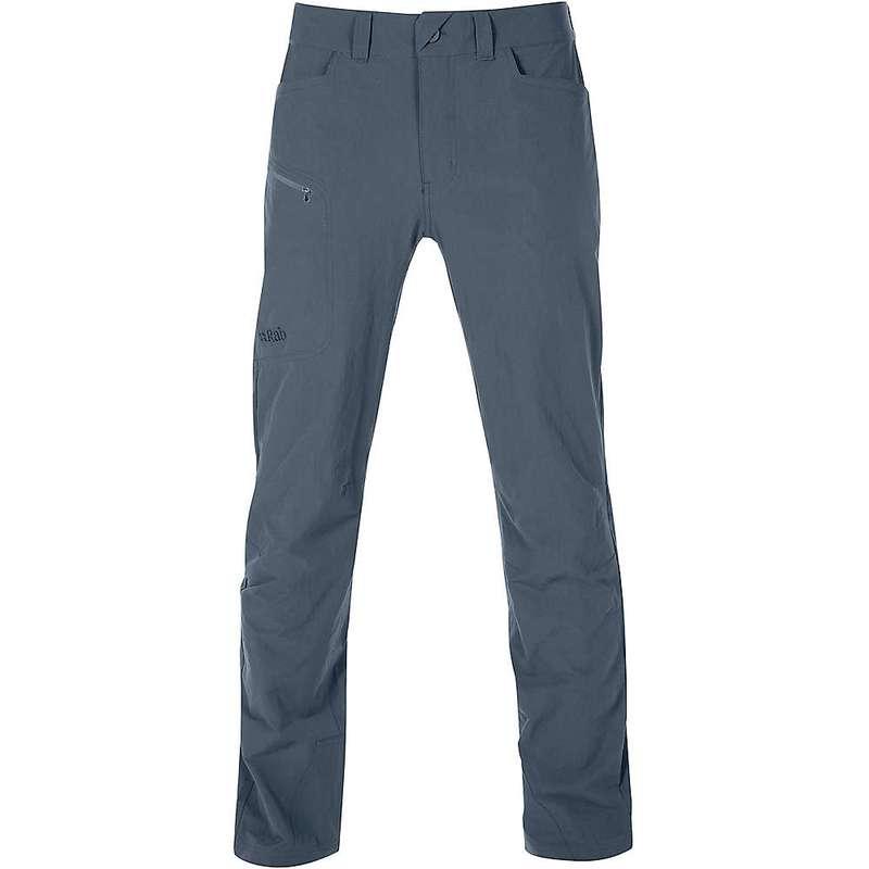 ラブ メンズ カジュアルパンツ ボトムス Rab Men's Traverse Pant Steel