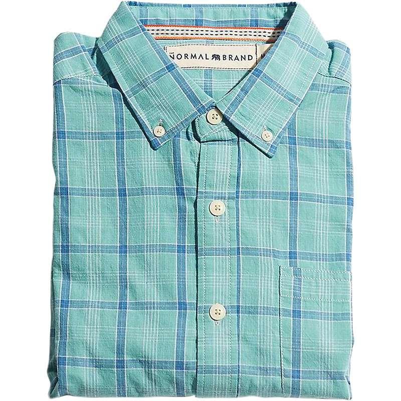 ノーマルブランド メンズ シャツ トップス The Normal Brand Men's Nikko Shirt Pacific