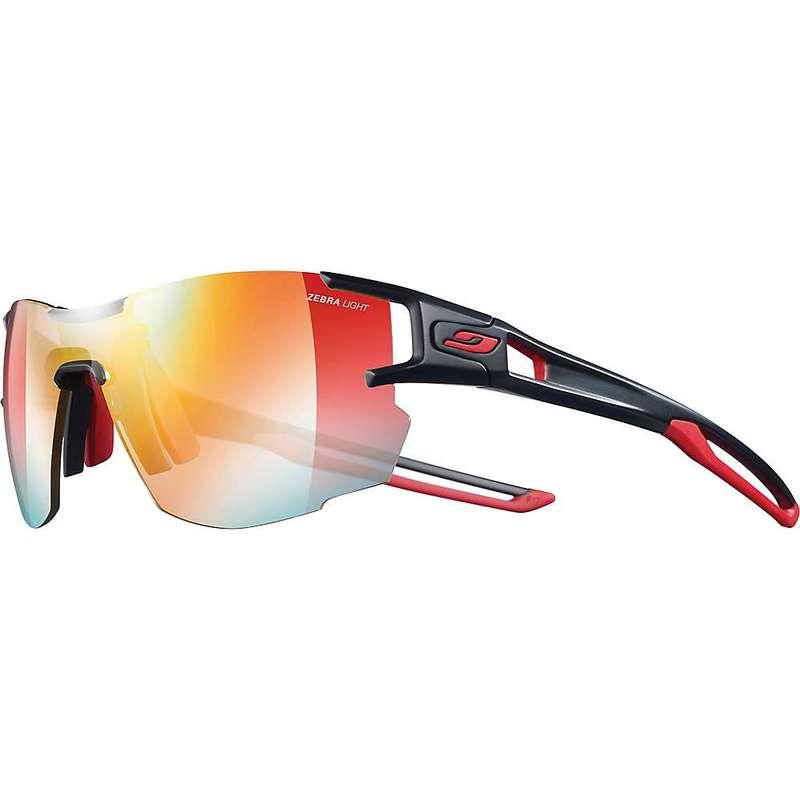 ジュルボ メンズ サングラス・アイウェア アクセサリー Julbo Aerolite Sunglasses Black/Red/Zebra Light