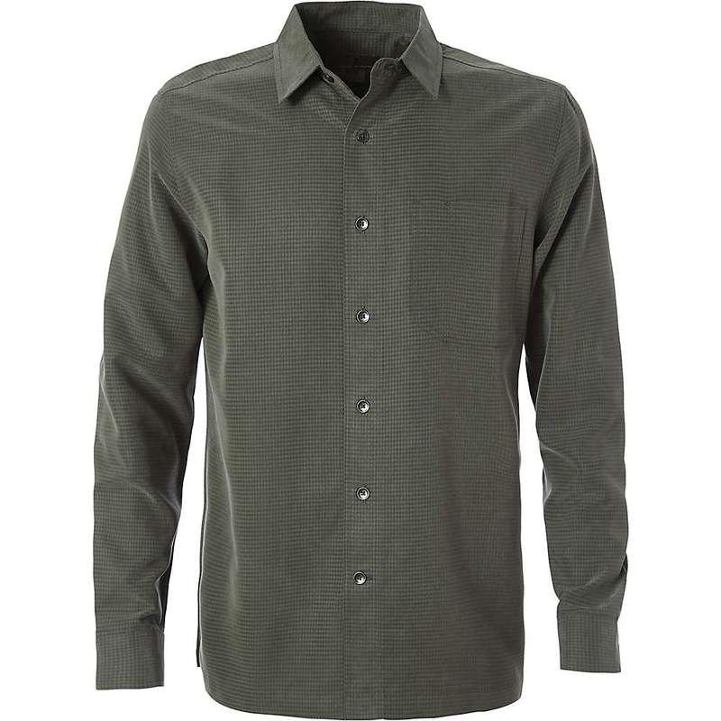 ロイヤルロビンズ メンズ シャツ トップス Royal Robbins Men's Desert Pucker Dry LS Shirt Climbing Ivy